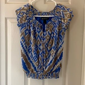 Inc lined blouse. Worn once.